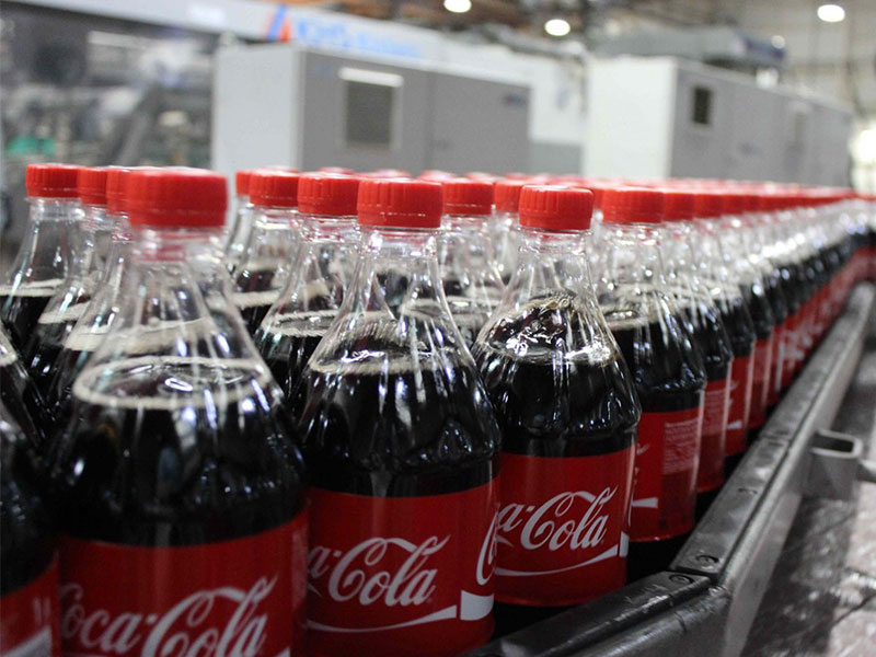 Excursion to the factory of Coca-Cola
