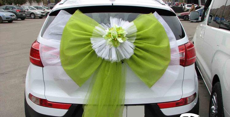 Мастер класс по украшению автомобилей на свадьбу